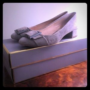 Louise et Cie Grey Suede pump